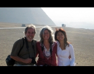 Kimchi with Dr. Bruce Lipton & Margaret in Egypt